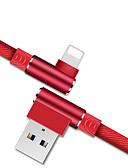 זול כבל & מטענים iPhone-תאורה כבל תשלום מהיר טרילן מתאם כבל USB עבור iPhone