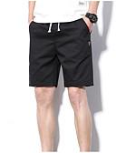 povoljno Muške majice i potkošulje-Muškarci Osnovni Kratke hlače Hlače - Jednobojni Sive boje Vojska Green Žutomrk XXXL XXXXL XXXXXL
