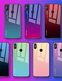זול מגנים לטלפון-מגן עבור Xiaomi Xiaomi Redmi Note 6 / Xiaomi Pocophone F1 / Xiaomi Redmi 6 Pro IMD כיסוי אחורי צבע הדרגתי קשיח TPU / Xiaomi Mi 6