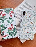 זול מגנים לאייפון-מגן עבור Apple iPhone XS / iPhone XR / iPhone XS Max תבנית כיסוי אחורי פרח רך TPU
