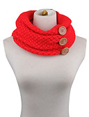 cheap Women's Belt-Women's Basic Infinity Scarf - Solid Colored
