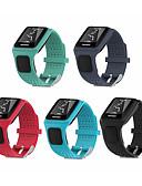hesapli Smartwatch Bantları-Watch Band için TomTom Multi-Sport GPS+HRM TomTom Spor Bantları Silikon Bilek Askısı