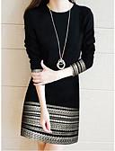 preiswerte Cocktailkleider-Damen Elegant Hülle Kleid - Spitze, Geometrisch Übers Knie