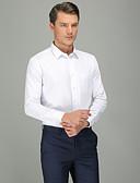זול חולצות-אחיד עסקים חולצה - בגדי ריקוד גברים לבן