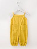 זול שמלות לתינוקות-אוברול וסרבל ללא שרוולים אחיד בנות תִינוֹק