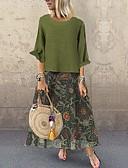 hesapli İki Parça Kadın Takımları-Kadın's Boho Set - Desen, Çiçekli Elbiseler