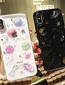 זול מגנים לאייפון-מארז עבור iPhone 6 / iPhone xs מקסימום נצנוץ ברק / דפוס חזרה קריקטורה / נצנוץ ברק טפו רך עבור iPhone 6 / iPhone 6 פלוס / iPhone 7