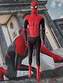 povoljno Zentai odijela-Cosplay Nošnje Super Heroes Odrasli Lycra® Cosplay Nošnje Bez nogu hulahopke Muškarci Žene Red 3D