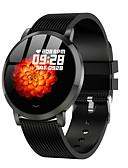 hesapli Akıllı Saatler-Akıllı İzle Dijital Modern Stil Stortif Silikon 30 m Su Resisdansı Kalp Ritmi Monitörü Bluetooth Dijital Günlük Dış Mekan - Siyah Mor Sarı