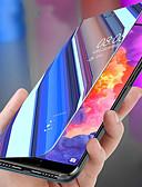 hesapli Cep Telefonu Kılıfları-Pouzdro Uyumluluk Huawei Huawei P20 / Huawei P20 Pro / Huawei P20 lite Şoka Dayanıklı / Satandlı / Ayna Tam Kaplama Kılıf Solid PC