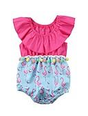 זול אוברולים טריים לתינוקות-מקשה אחת One-pieces ללא שרוולים דפוס בנות תִינוֹק