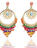 hesapli Bluz-Kadın's Küpe Klasik Dokuma Tatlı Moda sevimli Stil Küpeler Mücevher Kırmzı Uyumluluk Parti Hediye Karnaval Çalışma Festival 1 çift