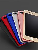 זול מגנים לאייפון-מגן עבור Apple iPhone X / iPhone 8 Plus / iPhone 8 עמיד בזעזועים / מזוגג כיסוי אחורי אחיד קשיח PC