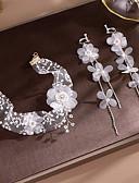 זול טוקסידו-טול עם פרח חלק 1 חתונה / מסיבה\אירוע ערב כיסוי ראש