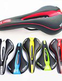 זול מחזיקים ומרכבים-אוכף אופניים נושם קומפורט מרופד עיצוב חלול פוליקרבונט רכיבת אופניים אופני הרים אופניים הילוך קבוע שחור / לבן שחור / אדום שחור / ירוק / עבה / ארגונומי / ארגונומי / עבה