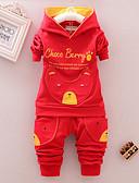 povoljno Kompletići za dječake-Dijete Dječaci Ležerne prilike / Osnovni Geometrijski oblici Print Dugih rukava Regularna Normalne dužine Komplet odjeće Red