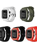 hesapli Smartwatch Bantları-Watch Band için Apple Watch Series 4 Apple Klasik Toka Silikon Bilek Askısı