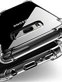 זול מגנים לטלפון-מגן עבור Samsung Galaxy J7 (2017) / J7 / J5 (2017) עמיד בזעזועים / עמיד לאבק כיסוי אחורי שקוף רך TPU