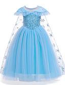 hesapli Elbiseler-Çocuklar Toddler Genç Kız Temel sevimli Stil Solid Çiçekli Kırk Yama Kısa Kollu Maksi Elbise Havuz