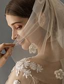 povoljno Vjenčani velovi-Three-tier Stilski Vjenčani velovi Shoulder Veils s Svjetlucave šljokice Til