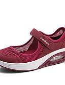 hesapli Tişört-Kadın's Spor Ayakkabısı Kişiye Özel Yuvarlak Uçlu Örümcek Ağı Minimalizm İlkbahar yaz Siyah / Beyaz / Kırmızı Şarap / Slogan