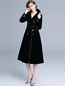 hesapli Maksi Elbiseler-Kadın's sofistike Zarif A Şekilli Elbise - Solid, Bağcık Kırk Yama Midi
