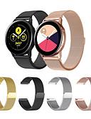 זול להקות Smartwatch-צפו בנד ל Gear Sport / Gear S2 / Samsung Galaxy Watch 42 Samsung Galaxy רצועת ספורט / לולאה בסגנון מילאנו מתכת אל חלד רצועת יד לספורט