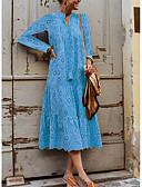 hesapli Maksi Elbiseler-Kadın's Kombinezon Elbise - Solid Midi