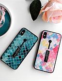 זול מגנים לאייפון-מארז עבור apple iphone xs max / iphone 8 בתוספת אטום לאבק / עם כיסוי אחורי לעמוד גיאומטרי דפוס tpu / זכוכית מחוסמת לאייפון 7/7 פלוס / 8/6/6 פלוס / xr / x / xs
