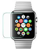 hesapli Akıllı Saat Ekran Koruyucuları-Apple watch serisi 4/3/2/1 için ekran koruyucu 40mm temperli cam yüksek çözünürlüklü (hd) 5 adet