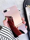 hesapli iPhone Kılıfları-Pouzdro Uyumluluk Apple iPhone XS / iPhone XR / iPhone XS Max Ayna / Ultra İnce Arka Kapak Solid TPU