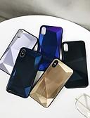זול מגנים לאייפון-מארז עבור apple iphone xs max / iphone 8 בתוספת אטום נגד אבק / עם מגן / מראה אחורית דפוס גיאומטרי / צבע שיפוע tpu / אקריליק עבור iphone 7/7 פלוס / 8/6/6 פלוס / xr / x / xs