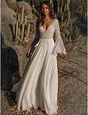 hesapli Maksi Elbiseler-Kadın's Temel Çan Elbise - Solid Maksi