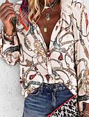 povoljno Bluza-Majica Žene Dnevno Geometrijski oblici purpurna boja