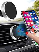זול מחזיקים ומרכבים-מחזיק טלפון סלולרי מגנטי אוניברסלי עבור סוגר מגנט אוורור לאייפון x סמסונג huawei לרכב