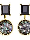 זול תכשיטים אופנתיים-בגדי ריקוד נשים אופנתי סגסוגת אחיד