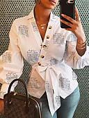 お買い得  男の子用 赤ちゃん ロンパース&カバーオール-女性用 シャツ フラワー ホワイト