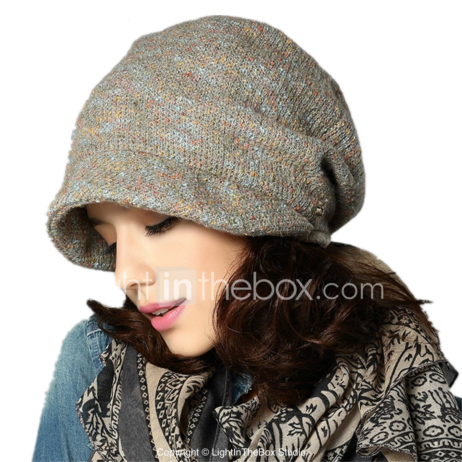 248272538a2f2 Kenmont Winter Cap Women Autumn Winter Beret Korean Knitted Hat Fashion  Piel Cap 1516  03227522