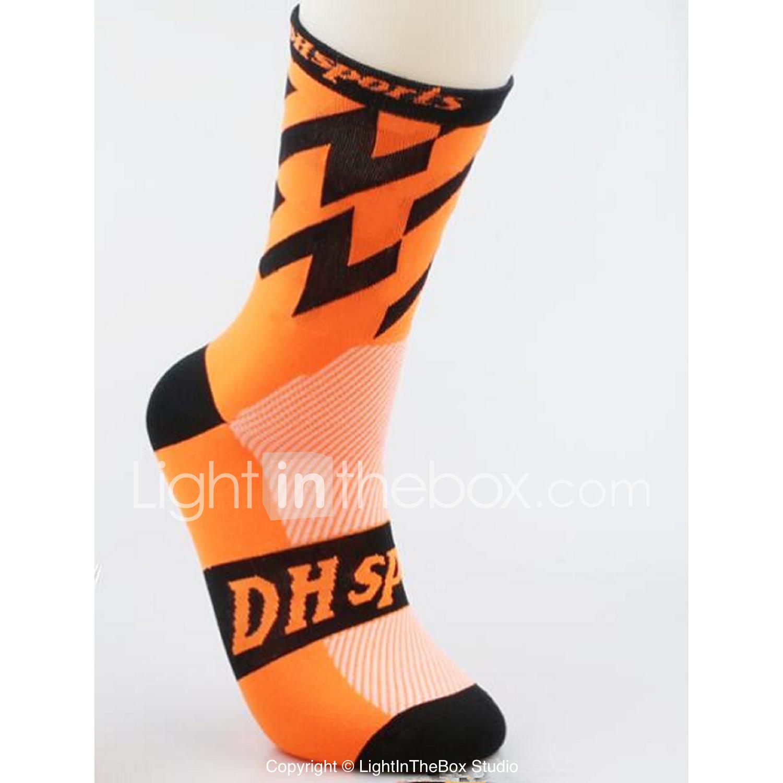 396d9a3d Kompresjonsstrømper Sport Sokker / Athletic Socks Sykkelsokker Herre Dame  Sykling / Sykkel Løp Sykkel / Sykling