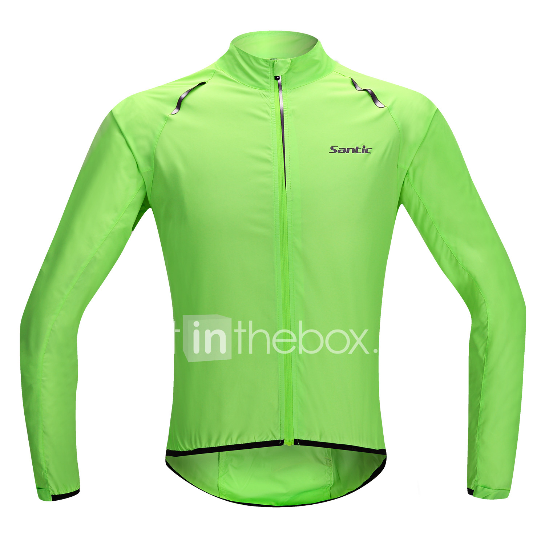 SANTIC Men s   Women s   Unisex Cycling Jacket Bike Jacket   Ultraviolet  Resistant Jacket   Raincoat 7f9b7e99b