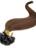 Cheap Human Hair Extensions Fusion U Tip 100 Strands Pack