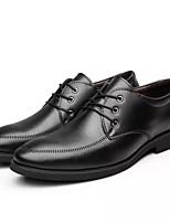 90025f7e49c6 billige Oxfordsko til herrer-Herre Formelle Sko PU Forår Forretning Oxfords  Ikke-glider Sort