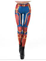 d077b0756d82 Χαμηλού Κόστους Γυναικεία Παντελόνια-Γυναικεία Αθλητικό Αθλητικές Φόρμες  Παντελόνι - Μοτίβο   3D Εκτύπωση Θαλασσί