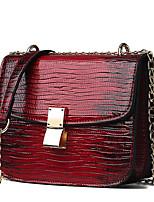 47926ba4fe4 Χαμηλού Κόστους Shoes Trends-Γυναικεία Τσάντες PU Σταυρωτή τσάντα  Συνδυασμός Χρωμάτων Λευκό / Ρουμπίνι /