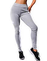 098b64d33f0a4 お買い得 フィットネス、ランニング&ヨガウェア-女性用 ヨガパンツ スポーツ 純色 エラステイン サイクリングタイツ