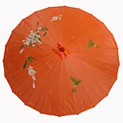 """Silke Vifter Og Parasoller Stk. / Sæt Parasoller Have Tema Asiatisk Tema Guld 19""""høj x 32 1/3"""" i diameter (48cm high×82cm i diameter)"""