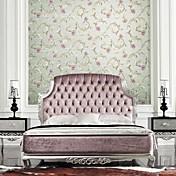 Floral Papel pintado Campestre Revestimiento de pared,Papel no tejido Sí