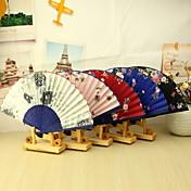 Algodón Los aficionados y sombrillas-# Pedazo / Set Abanico Tema Floral 38cm x 21cm x 1cm 2.4cm x 21cm x 1cm