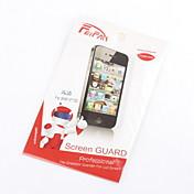 Protector de pantalla transparente Protector con paño de limpieza para Samsung Galaxy Note N7100 2