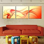 Impresiones en Lienzo Estirado Juego de Lienzo Abstracto Tres Paneles Horizontal Estampado Decoración de pared Decoración hogareña